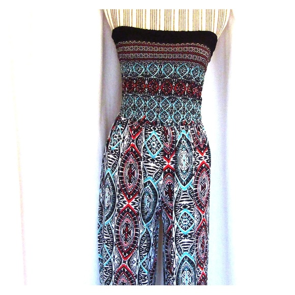 fdfe188fe1c Strapless Jumpsuit by mlle gabrielle Size Sm NWOT. Mlle Gabrielle.  M 5a7f8e99331627123638f833. M 5a7f78a21dffda623fbcfa16.  M 5a7f78bd9d20f0861ba7032a
